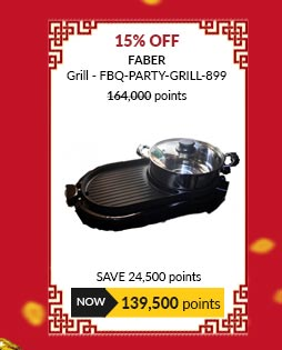 Faber Grill - FBQ-PARTY-GRILL-899