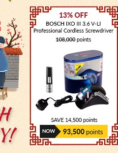 Bosch IXO III 3.6 V-LI Professional Cordless Screwdriver - 06019602L5