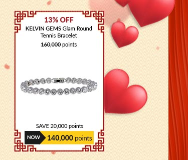 Kelvin Gems Glam Round Tennis Bracelet