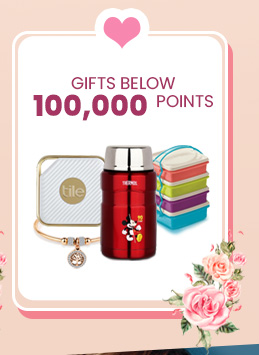 Gifts Below 100,000 Points