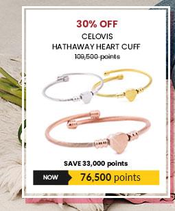 Celovis Hathaway Heart Cuff