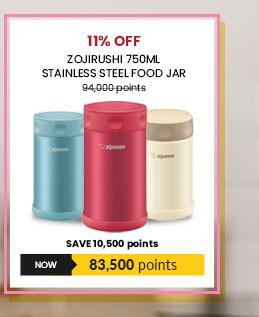 Zojirushi 750ml Stainless Steel Food Jar - SW-FCE-75