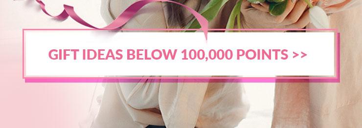 Deals Below 100,000 points
