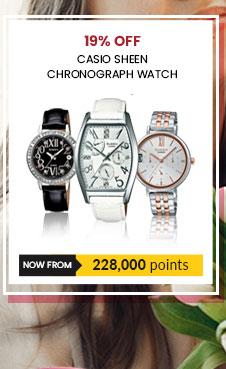 Casio Sheen Chronograph Watch