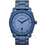 Fossil Men's Machine Blue Stainless Steel Watch - FS4707