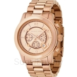 Michael Kors MK8096 Men's Oversized Rose Gold Plated Chronograph Watch