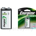 Energizer Rechargable 9V Batteries - NH22BP1-B