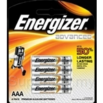 Energizer E2 Advance AAA Batteries - X92RP