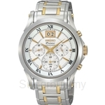 Seiko SPC058P1 Gents Premier Big Calendar Chronograph Watch