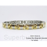 SSW 8122 (G) CRISS MAGNETIC BRACELET (For Ladies)