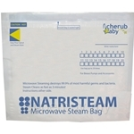 Cherub Baby Natristeam Microwave Steam Bags 5 Bags - CHAC0019