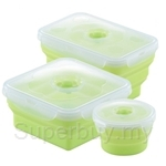 Oasis Premier 3Pcs Silicone Food Container Set