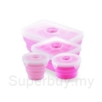 Oasis Executive 4Pcs Silicone Food Container Set