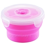 Oasis 540ml Round 1pc Silicone Food Container