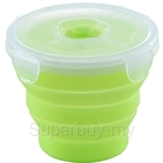 Oasis 660ml Round 1pc Silicone Food Container
