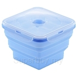 Oasis 1000ml Square 1pc Silicone Food Container