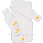 PiyoPiyo Bath Towel WashCloth Set 2 Pieces - 810034