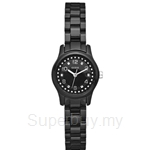 Guess W65022L2 Ladies Sport Black Polycarbonate Watch - NEW
