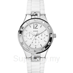Guess W10615L1 Ladies Sport White Silicone Multifunction Watch