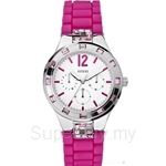 Guess W10615L2 Ladies Sport Pink Silicone Multifunction Watch