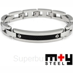M+Y STEEL Racer I Men Bracelet - 101-031