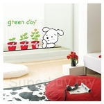 IR KoreaDeco Plant Series - Green Day(32cmx60cm)