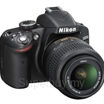 Nikon D3200 Digital SLR Kit with AF-S 18-55mm FREE 8GB SD + DSLR BAG