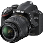 Nikon D3200 Digital SLR Kit with AF-S 18-105mm FREE 8GB SD + DSLR BAG