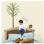 IR KoreaDeco Plant Series - Green Tree (50cmx70cm)
