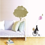 IR KoreaDeco Plant Series - Tree & Bicycle (50cmx70cm)
