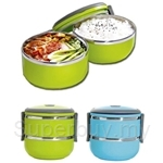 Homewave Vacuum Insulated Double Layer Polyproplyene Tiffin Lunch Box