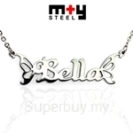 M+Y STEEL Personalise Name Pendant - 107-045