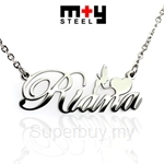 M+Y STEEL Personalise Name Pendant - 107-047