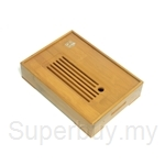 Red Leaf Bamboo Tea Tray
