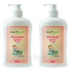 BabyOrganix Kids and Family Peach Top To Toe Cleanser 400ml - BO12-12