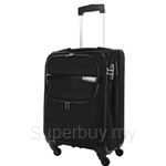 American Tourister DC Superlite II Spinner Exp Combi Black