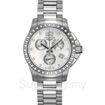Longines Ladies Conquest Automatic Chronograph Diamonds Watch - L3.279.0.87.6