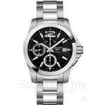 Longines Gents Conquest Automatic Chronograph Watch - L3.678.4.56.6