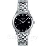 Longines Gents Flagship Automatic Diamonds Watch - L4.774.4.57.6