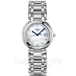 Longines Ladies PrimaLuna Quartz Diamonds Watch - L8.112.4.87.6