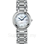 Longines Ladies PrimaLuna Automatic Diamonds Watch - L8.113.4.87.6