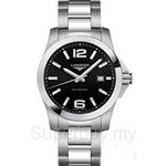 Longines Gents Conquest Quartz Watch - L3.659.4.56.6