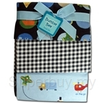 Bumble Bee 3PC Receiving Blankets Blue-Transport - BLK0022