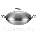 Thermos 5-Ply S-Steel Lifestyle Wok - WOB-41-S