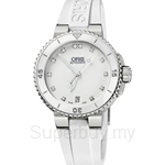 Oris Aquis Date Diamonds Automatic Womens Watch - 73376524191RS