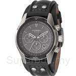 Fossil Men's Chronograph Black Dial Watch - CH2586