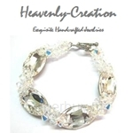 Heavenly Creation White Elegant Bracelet - 304B