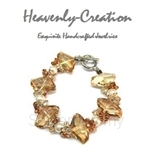Heavenly Creation Golden Shadow & Pearl Bracelet - 305B