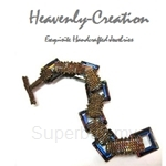 Heavenly Creation Peyote Square Bracelet (306NWB)
