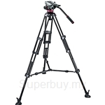 Manfrotto Pro Video Kit MVH502A Head with Ball + 546B Tripod - MVH502A-546BK